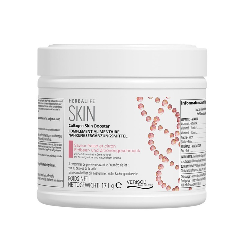Collagen Skin Booster fraise et citron 171 g